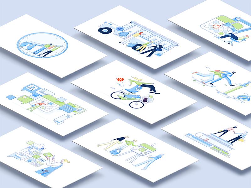 Doodle Product & Website Illustration